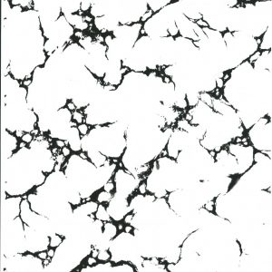 Black and clear marble effect 001
