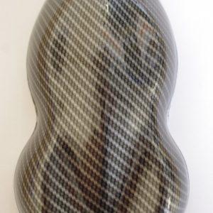 3D Silver carbon weave 100cm