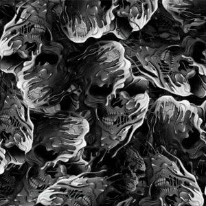 melting skulls