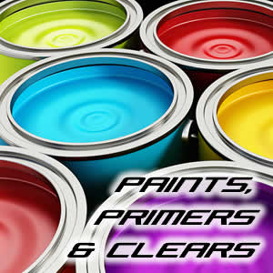 Paints, Primers and Clears