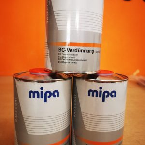 Mipa 2K Basecoat Thinners 1l